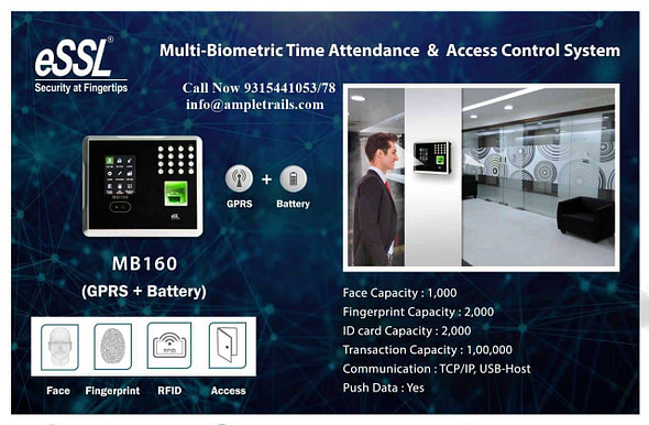 Face Attendance Machine with battery backup and 3G