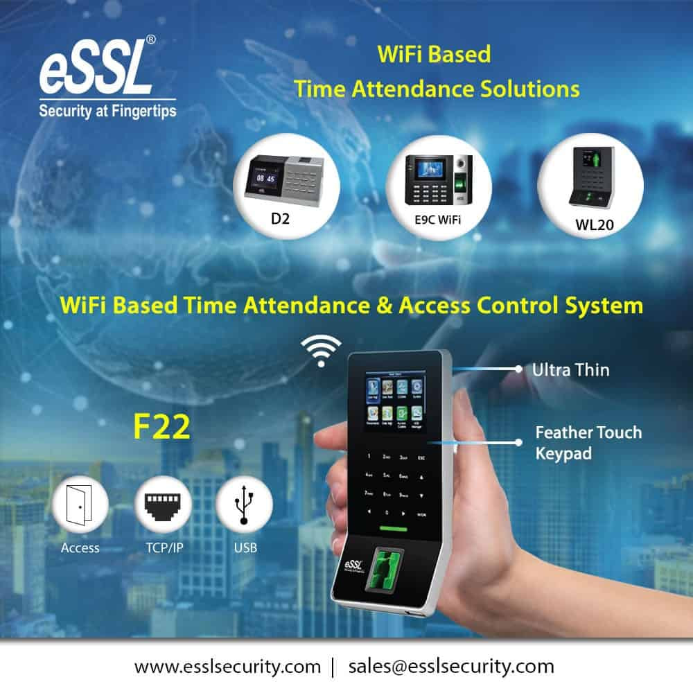Wifi Based Time Attendance Solutions