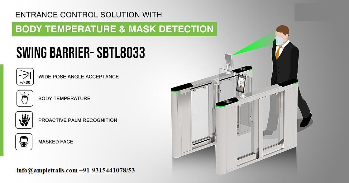 Body Temperature Mask Detection Entrance Control Solution